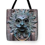 The Sanctuary Knocker Tote Bag