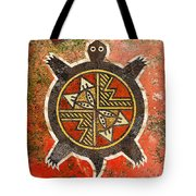 The Sand Turtle Tote Bag by Sergey Khreschatov