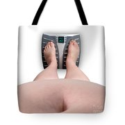 The Scale Says Series Fat Ass Tote Bag