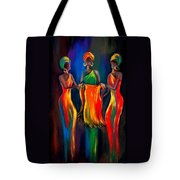 The Scarf Tote Bag