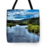 The Scenic Moose River Tote Bag
