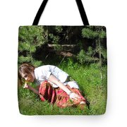 The Scent Of The Dandelion Tote Bag
