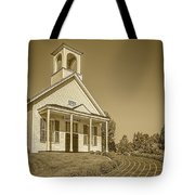 The Schoolhouse Hdr Tote Bag