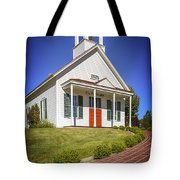 The Schoolhouse Tote Bag