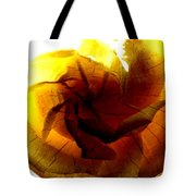 The Scorched Rose Tote Bag