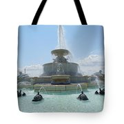 The Scott Fountain On Belle Isle Tote Bag