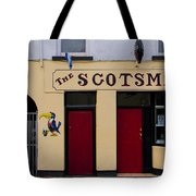 The Scottsmans Bar - Donegal Ireland Tote Bag