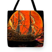 The Sea Of Broken Dreams Tote Bag