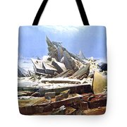 The Sea Of Ice Polar Sea Tote Bag