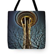 The Seattle Space Needle Iv Tote Bag