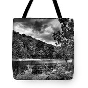 The Secluded Bald Mountain Pond Tote Bag