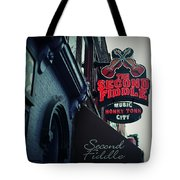 The Second Fiddle Tote Bag