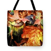 The Secret Of Fall Tote Bag