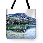 The Secret Of The Sea Tote Bag
