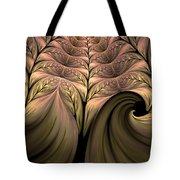 The Secret World Of Plants Abstract Tote Bag