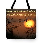 The Secrets Of Your Soul Tote Bag