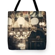 The Senate Chandeliers  Tote Bag by Lisa Russo