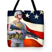 The Sentry Tote Bag