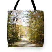 The Serene Path Tote Bag