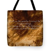 The Serenity Prayer 1 Tote Bag