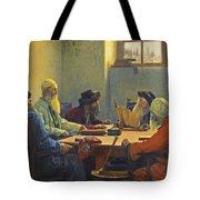 The Seven Rabbis In Jerusalem Tote Bag