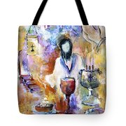 The Seven Sacrements Tote Bag