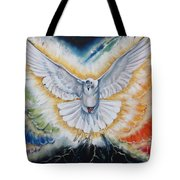 The Seven Spirits Series - The Spirit Of The Lord Tote Bag