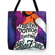 The Seven Year Itch German Tote Bag by Georgia Fowler
