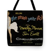 The Seven Year Itch Tote Bag by Georgia Fowler