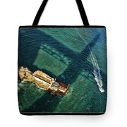 The Shadow Of The Golden Gate Tote Bag