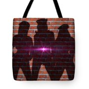 The Shadow Of The Grafitti Ladies Tote Bag