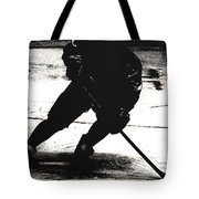 The Shadows Of Hockey Tote Bag
