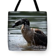 The Shake Off - Canadian Goose Tote Bag