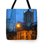 The Shard And Southwark Cathedral Tote Bag