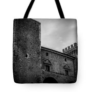 The Shattered Fortress Tote Bag