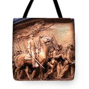 Saint Gaudens' The Shaw Memorial Tote Bag