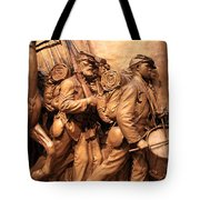 Saint Gaudens -- The Shaw Memorial's Right Side Tote Bag