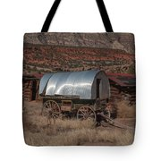 The Sheep Wagon Tote Bag