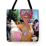 The Shell Queen Tote Bag