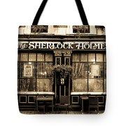 The Sherlock Holmes Pub Tote Bag