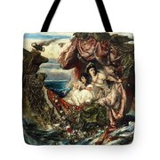 The Shipwreck Of Agrippina Tote Bag