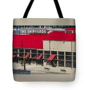 The Shipyards In Vancouver Tote Bag