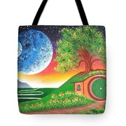 The Shires Moons  Tote Bag