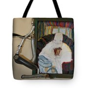 The Shoe Isn't Important The Run Is - Framed Tote Bag