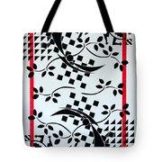 The Shogun's Garden Tote Bag