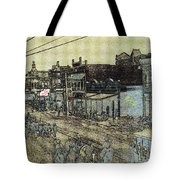 The Shootist Homage 1976 Unknown Photographer Parade Phoenix Arizona C.1880 Tote Bag