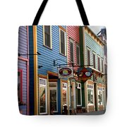 The Shops In Crested Butte Tote Bag