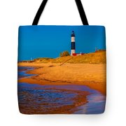 The Shore To Big Sable Tote Bag