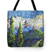 The Shores Of Dreams Tote Bag