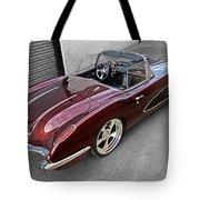 The Show Winner 1958 Corvette Tote Bag